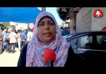 رسالة الجماهير التضامنية للاسير بلال كايد - استطلاع رأي خاص بمركز حنظلة